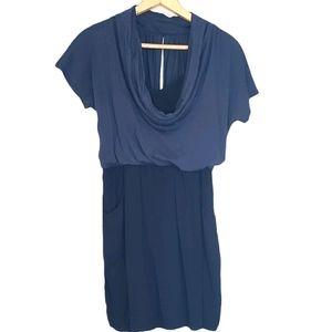 Ella Moss Barney's XS Navy Blue Mini Dress